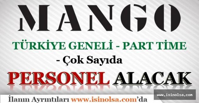MANGO Part Time Personel Alımı - Türkiye Geneli