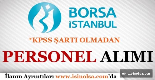 Borsa İstanbul Personel Alımı 2016