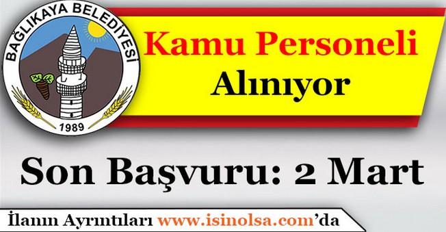 Aksaray Bağlıkaya Belediye BaşkanlığıDaimi Kamu Personeli Alımı Yapıyor