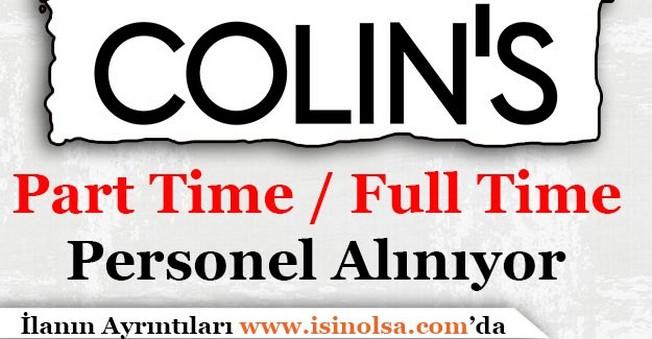 Colin's Çok Sayıda Personel Alımı Yapıyor