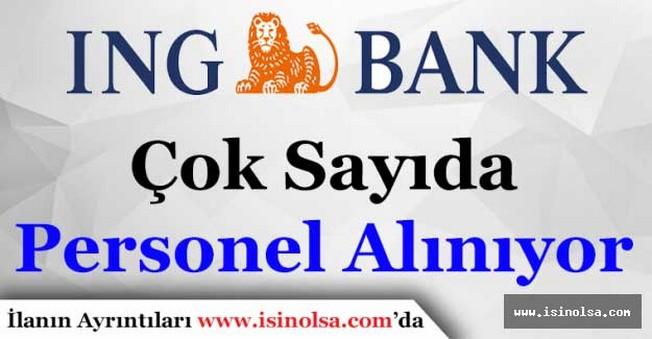 ING Bank Personel Alımı Yapacak
