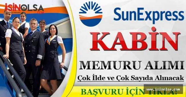 SunExpress Kabin Memur Alım İlanı Yayınladı
