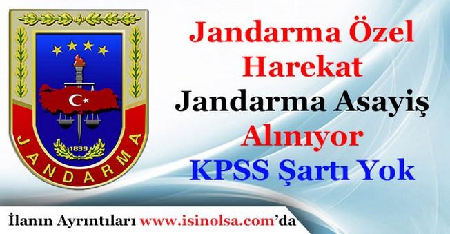 Jandarma Özel Harekat ve Jandarma Emniyet Asayiş Alımı Başvuruları Sürüyor