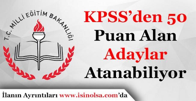 KPSS'den 50 Alan Öğretmen Olabilecek