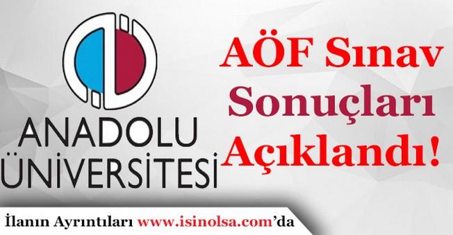Anadolu Üniversitesi Açıköğretim Fakültesi Sınav Sonuçları Açıklandı