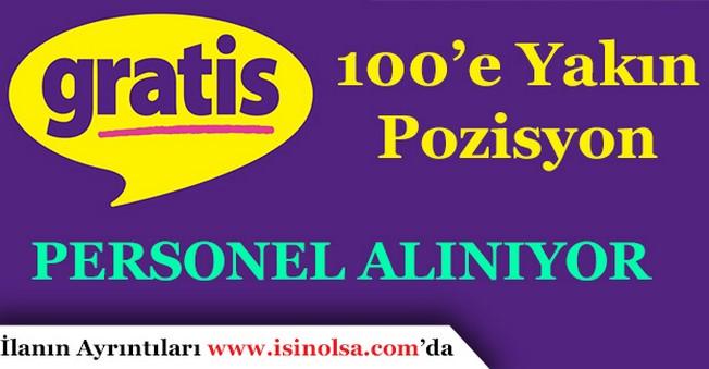 Gratis 100'e Yakın Pozisyona Personel Alıyor! Türkiye Geneli