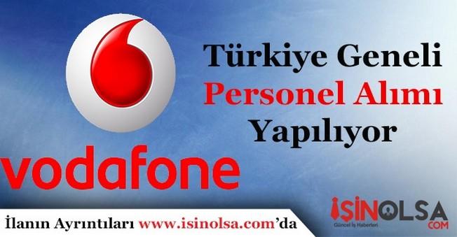 Vodafone Çok Sayıda Personel Alıyor! Alım Yapılan Pozisyonlar
