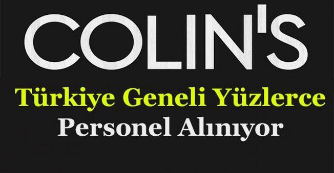 Colin's Türkiye Geneli Çok Sayıda Personel Alıyor!