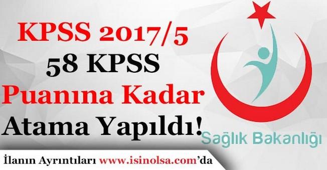 KPSS 2017/5 Atamalarında 58 KPSS Puanına Kadar Memur Ataması Yapıldı!