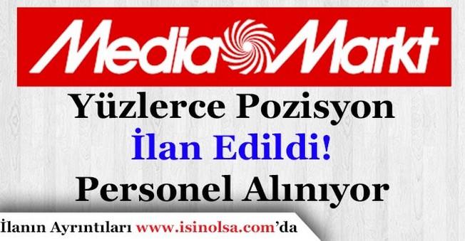 Media Markt Yüzlerce Personel İlanı İçin Personel Alıyor!