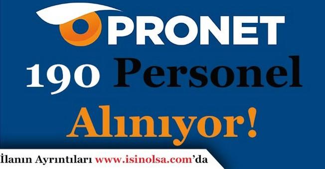 Pronet Güvenlik Hizmetleri 190 Personel Alımı Yapıyor
