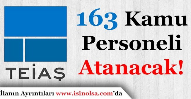 Türkiye Elektrik İletim A.Ş. 163 Kamu Personeli Atayacak!