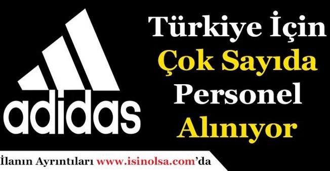 Adidas TürkiyeÇok Sayıda Personel Alıyor!