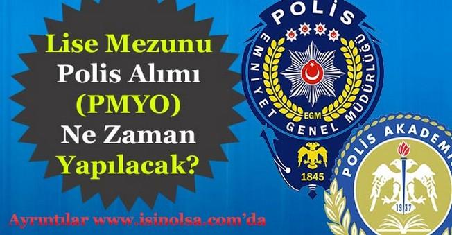 EGM Lise Mezunu Polis Alımları Ne Zaman Yapacak!