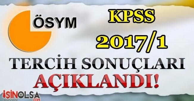 KPSS 2017/1 Tercih Sonuçları Açıklandı! Yerleşen Adaylar Ne Yapacak