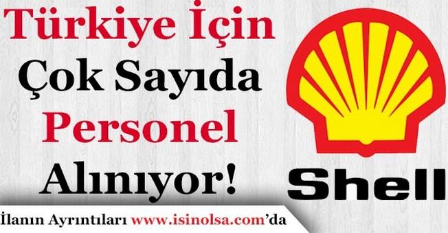 Shell Petrol Yurt Geneline Çok Sayıda Personel Alımı Yapıyor!