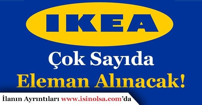 IKEA Türkiye Geneli Çok Sayıda Eleman Alacak!