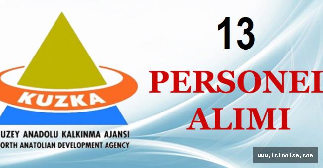 Kuzey Anadolu Kalkınma Ajansı 16 Personel Alacak