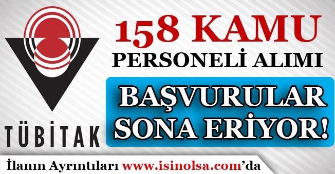 TÜBİTAK BİLGEM 158 Kamu Personeli Alımı Başvuruları Bitiyor! Hemen Başvuru Yap