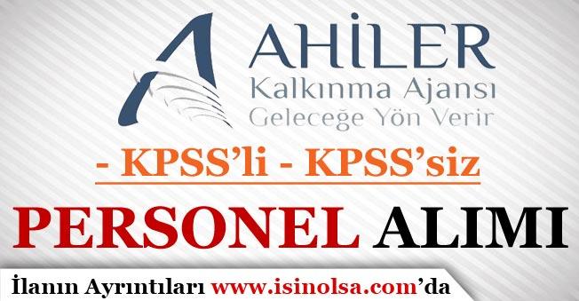Ahiler Kalkınma Ajansı KPSS'li KPSS'siz 16 Personel Alımı Yapacak!