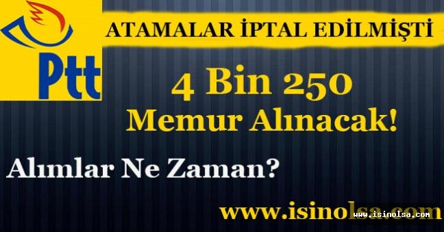 PTT 4 Bin 250 Memur Alımı Yapacak! İlan Ne Zaman Yayımlanacak