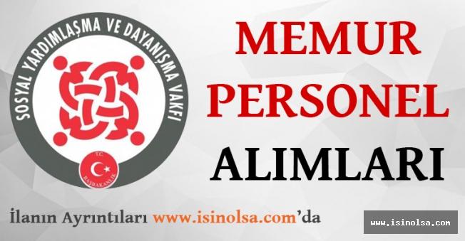 Sosyal Yardımlaşma ve Dayanışma Vakfı Nevşehir Ürgüp'te Büro Görevlisi Alıyor!