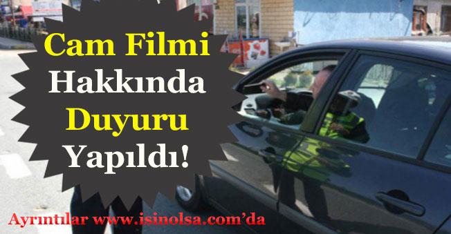 İçişleri Bakanı Süleyman Soylu Cam Filmi Hakkında Önemli Açıklama Yaptı!