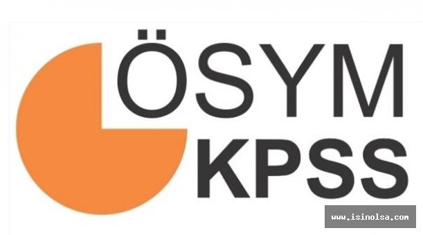 KPSS 2017/2 Merkezi Atama Kadro Dağılımı Açıklandı!