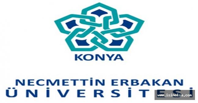 Necmettin Erbakan Üniversitesi çok sayıda sözleşmeli personel alıyor