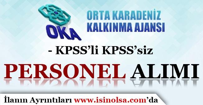 Orta Karadeniz Kalkınma Ajansı Personel Alımı Yapıyor! KPSS'li KPSS'siz