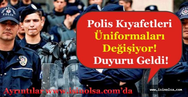 EGM Polis Kıyafetleri Üniformaları Değişiyor! Yeni Polis Kıyafetleri Nasıl Olacak?
