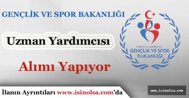 Gençlik ve Spor Bakanlığı 30 Uzman Yardımcısı Alımı Yapacak. İşte Başvuru Tarihleri