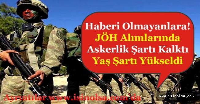 Haberi Olmayanlara! Jandarma Özel Harekat (JÖH) Alımlarında Askerlik Terhis Şartı Kaldırıldı