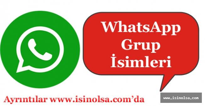 Harika WhatsApp Grup İsimleri (Eğlenceli - Komik - Trend)