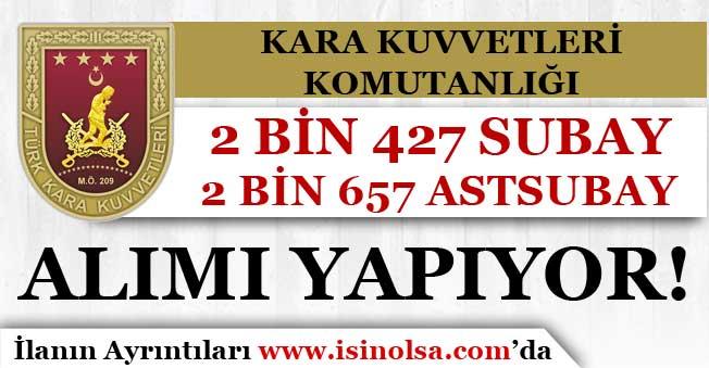 KKK 2427 Subay, 2657 Astsubay Alıyor