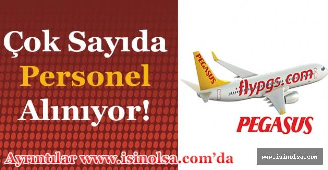 Pegasus Türkiye En Az Ortaöğretim Mezunu Çok Sayıda Personel Alımı Yapıyor!