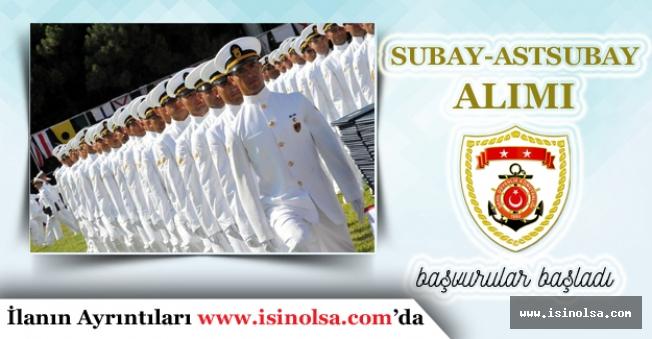 Sahil Güvenlik Komutanlığı Subay ve Astsubay Başvuruları Başladı