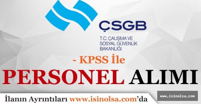 Çalışma ve Sosyal Güvenlik Bakanlığına KPSS Puansız Bilişim Personeli Alınacak