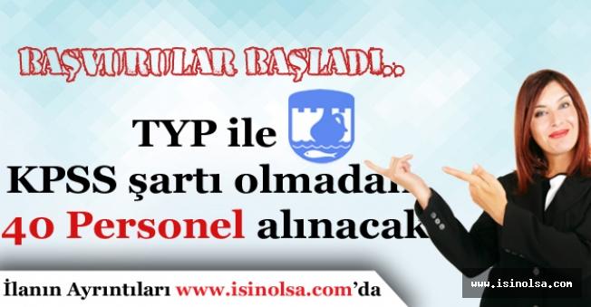 Toplum Yararına Programı TYP ile KPSS'siz 40 Memur alımı Başvuruları Başladı