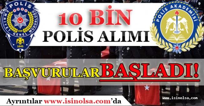 22. Dönem POMEM 10 Bin Polis Alımı Başvuruları Başladı! Başvuru Ekranı
