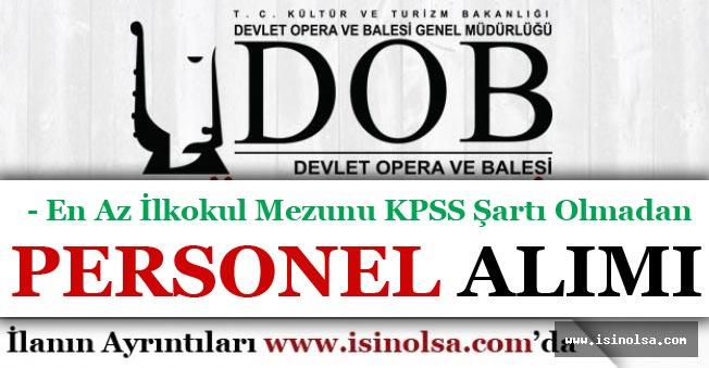 Ankara DOB Atölye Elemanı Alımı Yapıyor! En Az ilkokul Mezunu