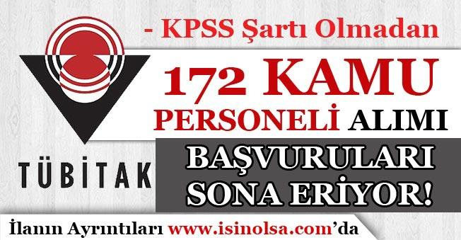 TÜBİTAK SAGE 172 Personel Alımı Başvuruları Sona Eriyor! KPSS Şartı Olmadan