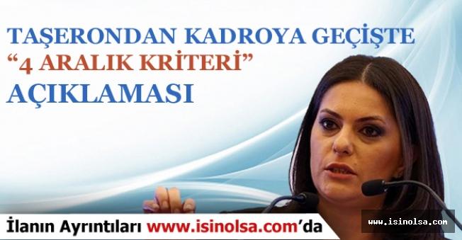 """Çalışma Bakanı SARIEROĞLU """"4 Aralık Kriteri """" İçin Önemli Açıklama Yaptı!"""