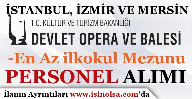 İstanbul, İzmir ve Mersin DOB KPSS Şartı Olmadan Personel Alımı Yapıyor!