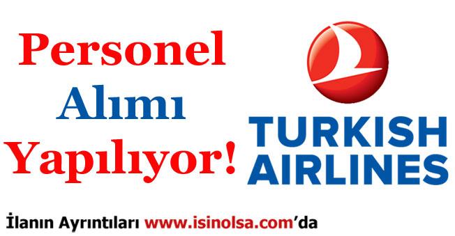 Türk Hava Yolları THY Personel Alımı Yapıyor!