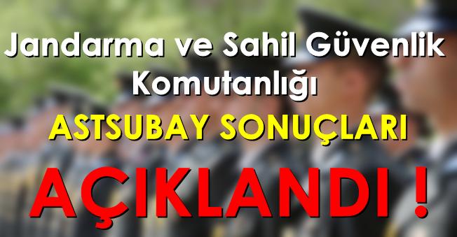 Jandarma ve Sahil Güvenlik Komutanlığı Astsubay Alımı Sınav Çağrısı Yayımlandı!