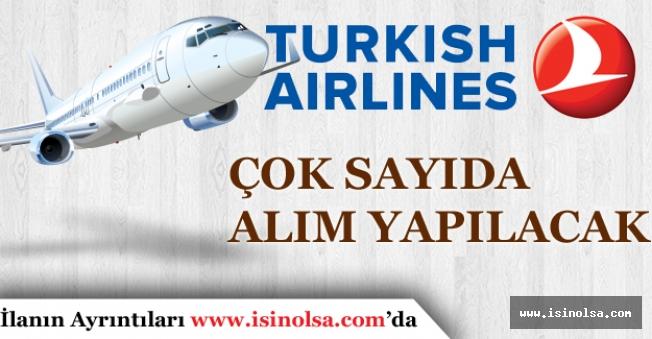 Türk Hava Yolları Çok Sayıda Tecrübeli, Tecrübesiz Personel Alımı yapıyor.