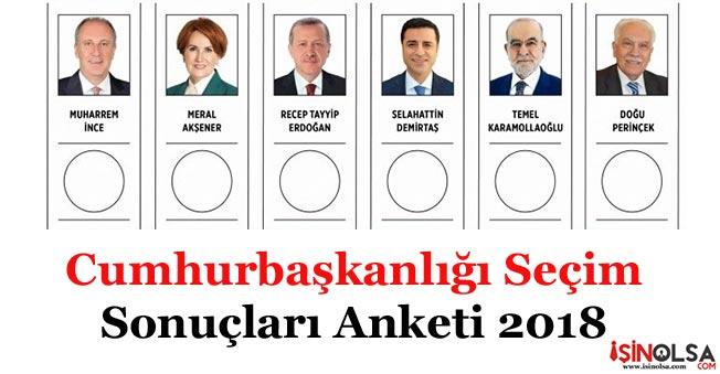 24 Haziran Cumhurbaşkanlığı Seçim Sonuçları Anketinde Çarpıcı Gelişmeler