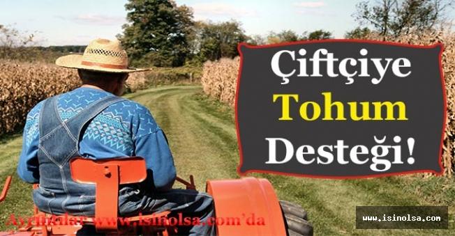 Çiftçilere Tohum Desteği! Nohut Alımında Çiftçilere Destek Verilecek