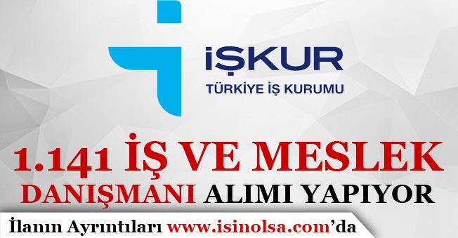 İŞKUR 1141 İş Ve Meslek Danışmanı ( İDM ) Alımı Yapıyor!